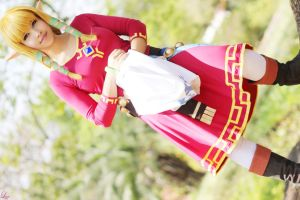 Zelda from Skyward Sword by LayzeMichelle