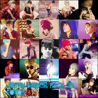 Pack de fotos, Justin Bieber. by isourdream