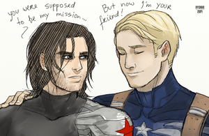CA:tws :  you were supposed to be my mission... by hyokka