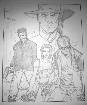 Preacher Crew Poster by Joe-Kach