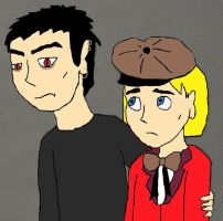 Damien and Pip by Galgalgo