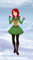 Genderbend Hiccup Snow Queen Style by mojomcm