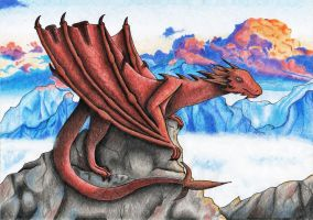 Collaboration: A date with Smaug XD by Saliona93