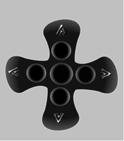 Cross of the south concept by avatare
