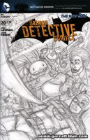 Sam and Max sketch cover pencils by gb2k