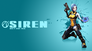 Borderlands 2 Siren Wallpaper by CodyAWilliams