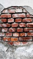 Brick Exposed iPhone Wallpaper by vmitchell85