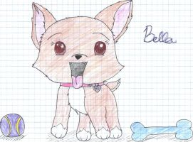 My doggy Bella by Drizzle-The-Glaceon