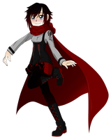 RWBY Outfit project - Ruby Rose (2/6) by linamomoko