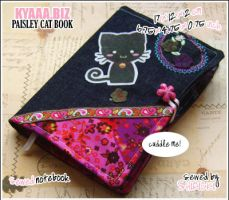 Cozy Book - Paisley Cat by shiricki