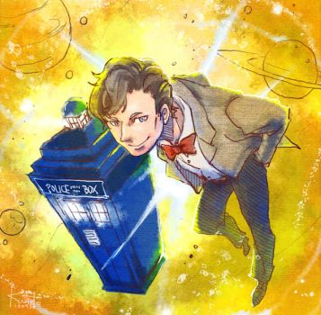 Doctor Who by gtchuang