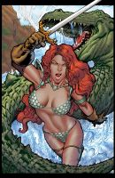 Red Sonja by HectorRubilar
