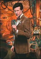 Matt Smith - Doctor Who by caldwellart
