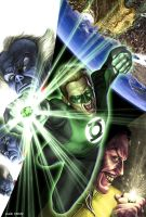 Green Lantern Sample Cover by caiocacau