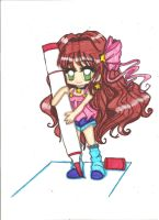 Copic Chibi by ClaireRoses