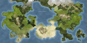 Fantasy Map 2 by Studpuffin