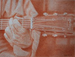 Chris's Martin Guitar by waughtercolors