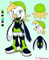 Reference- .:New:. Glacia The Penguin by Togekisser
