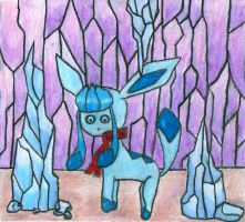 Glaceon by Pokerus911