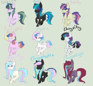 !!!MLP SHIPPING ADOPTS!!! by AliyaDistrict12