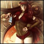 Steampunk Revolution by Lady-Morana