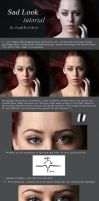 Sad Look Tutorial by LadyEvilArts