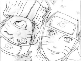 Naruto Before/After by Flunchis