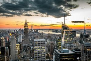 High In The Sky (New York) by BrunoCHATARD