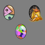 Egg adopt [10 points] - 1/3 by BeautyAdopts