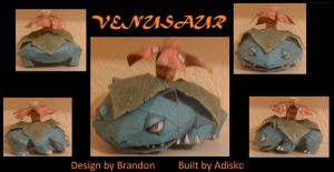 Paper Pokemon Venusaur by Adisko