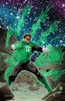 Green Lantern by BearClawStudios