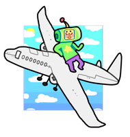 KATAMARI ON THE WINGS by tropicalfriend