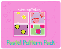 Pastel Pattern Pack by RaindropMelody