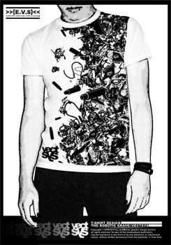 T-shirt Design by Vectsys