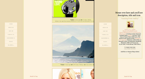Tumblr Theme 05 by FireworkProdz