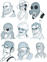 tf2 sketches by xNIR0x