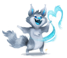 Commission - Spunky-Mutt by Cryptid-Creations