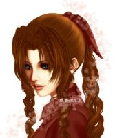 .:FF7 - Aerith Gainsborough:. by WoodenOrchid