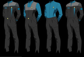 Epsilon Force Uniforms Type 3 by Wolfcrest1701