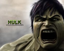 The hulk by WilleWellDesigner
