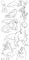 Stream Doodles by Eligecos