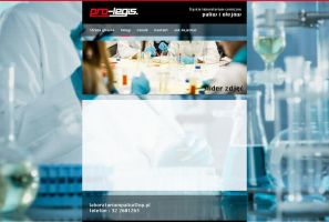 Laboratory website by eeb-pl
