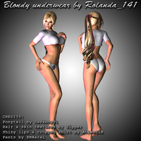 Blondy underwear mod by HailSatana