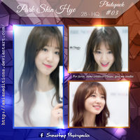 +PARK SHIN HYE | Photopack #OO3 by AsianEditions