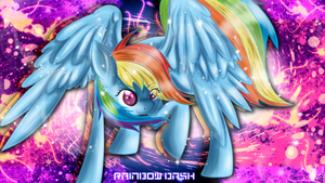 Rainbow Dash Wallpaper by LlamasWithKatanas