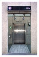 Elevator at Parliament Station by decryption