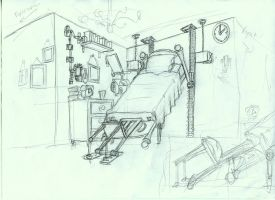 Victor's machinecal bedroom concept by gnomKOLIN