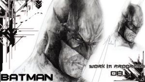 BATMAN:Arkham Asylum work in progress#2 (zoom) by GabrielArtist