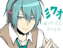 Mikuo: Practice Coloring (3rd Time) by aoikami