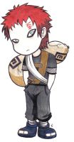 Chibi Gaara by DemonAnime-Bloodlust